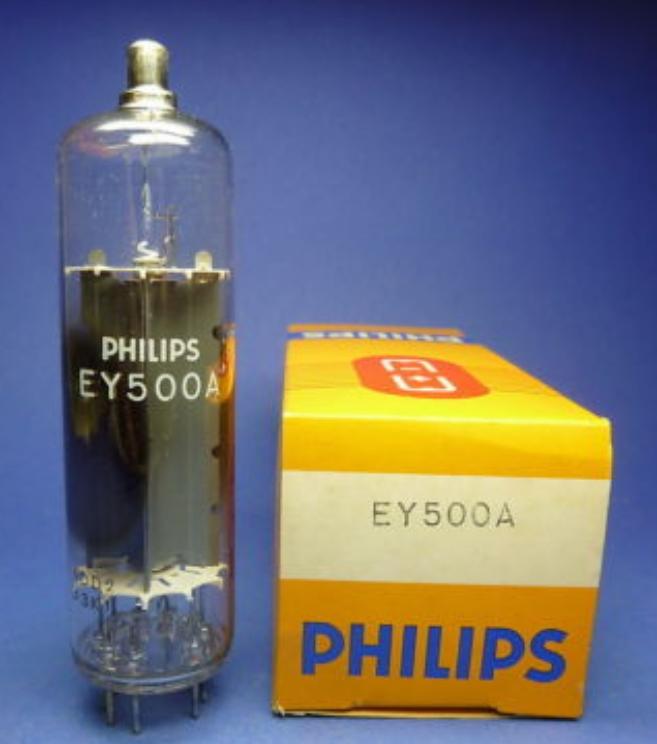 EY 500a Radioröhren Sammler-Elektronenröhren